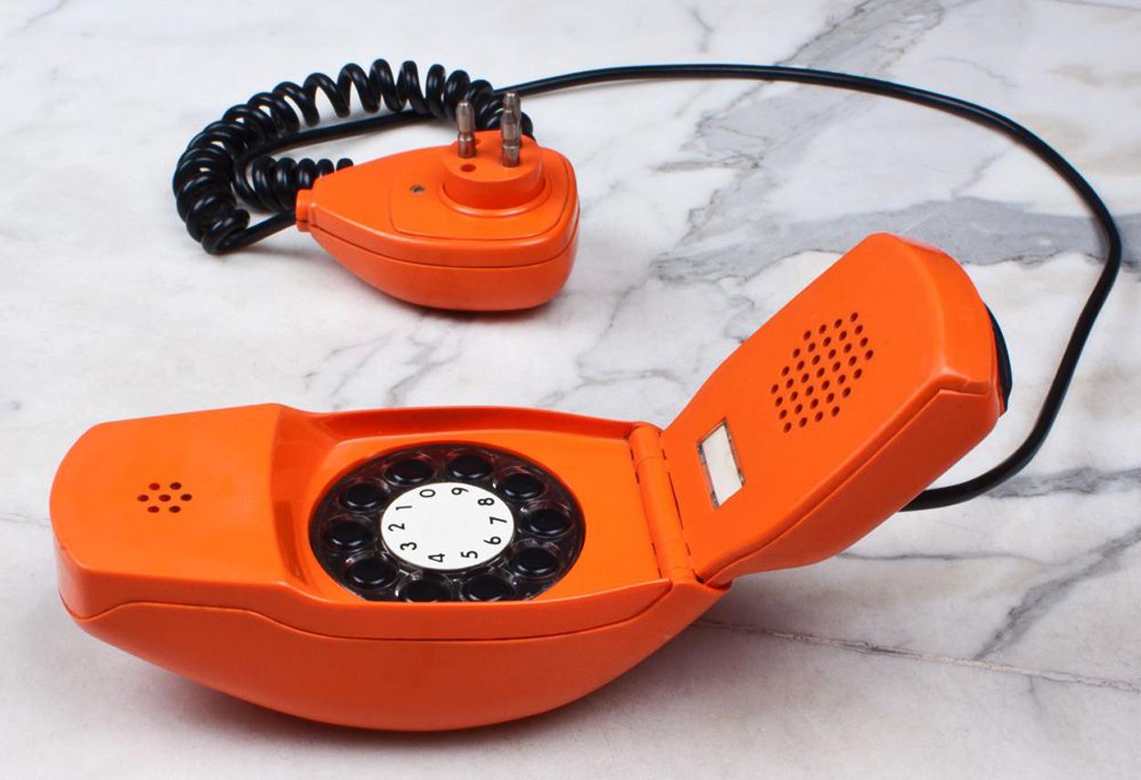 Il telefono Grillo progettato da Marzo Zanuso