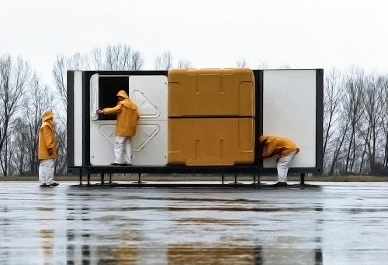 L'installazione di Marco Zanuso per la la mostra Italy