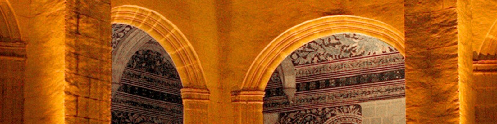 Dettaglio dell'illuminazione della corte interna